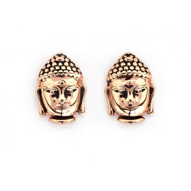 Buddha Gold Plated Earrings CRET0407AR