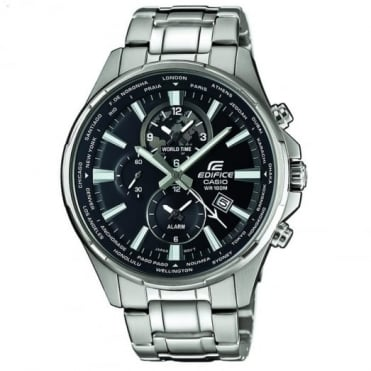 Casio Edifice Men's Dual Display World Time Edifice Watch EFR-304D-1AVUEF