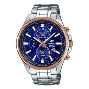 Casio Edifice Men's Edifice Alarm Chronograph Watch EFR-304PG-2AVUEF