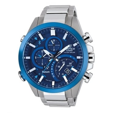 Men's Stainless Steel Edifice Watch EQB-500DB-2AER