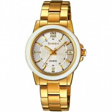 Casio Ladies' Sheen Watch SHE-4512G-7AUER