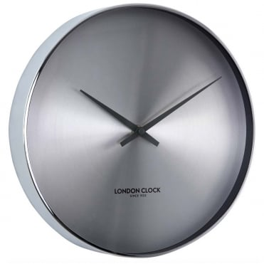 Chrome Finish Wall Clock 01218