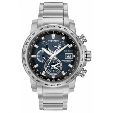 Citizen Gent's Stainless Steel World Time Watch AT9070-51L