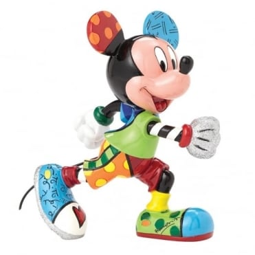 Disney Britto Mickey Mouse Track Figure 4052556