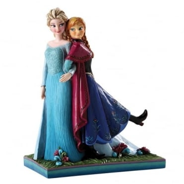Disney Traditions Anna and Elsa Sisters Forever Frozen 4039079