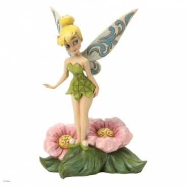 Disney Traditions Flower Fairy Tinker Bell Figurine 4037505