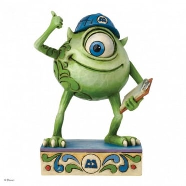 Disney Traditions Good Morning Metropolis - Mike Wazowski Figurine 4031488