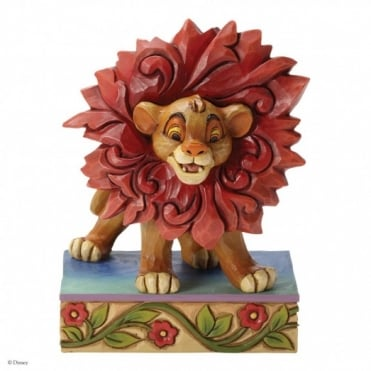 Disney Traditions Just Can't Wait To Be King - Simba Figurine 4032861