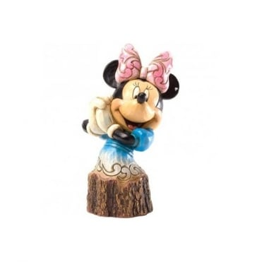 Disney Traditions Minnie Mouse Carved By Heart 4033289