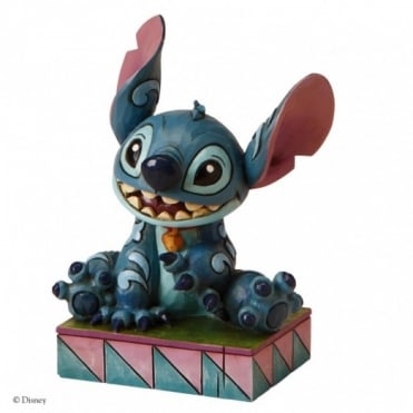 Disney Traditions Ohana Means Family - Stitch Figurine 4016555