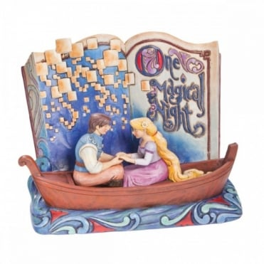 Disney Traditions Rapunzel Story Book One Magical Night 4043625