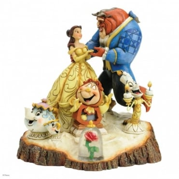 Disney Traditions Tale As Old As Time Firgurine 4031487