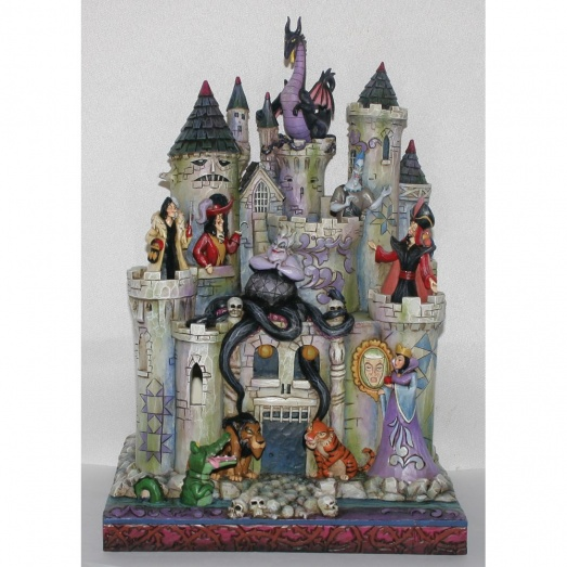 Tower Of Fright Haunted Castle With Disney Villains