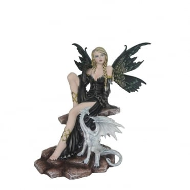 Dominique Black Fairy & White Dragon D2890H7