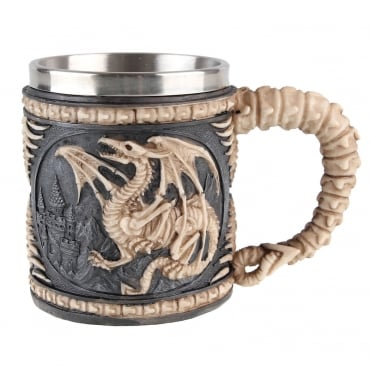 Dragon Skeleton Tankard AL50177