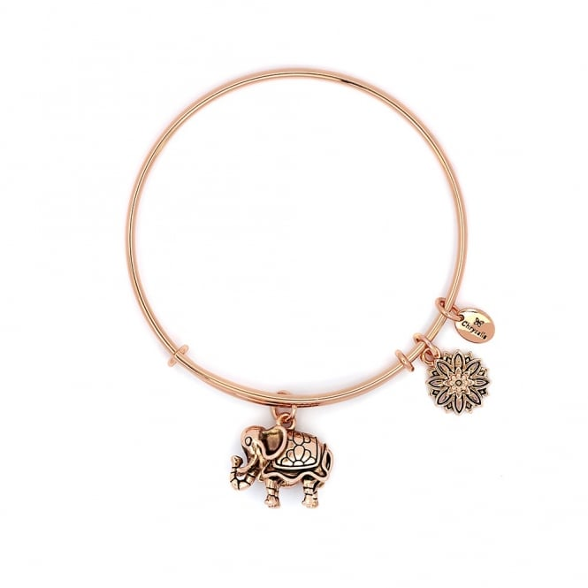 Elephant Gold Plated Bangle CRBT2209RG