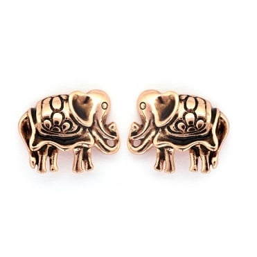Elephant Gold Plated Earrings CRET0409AR