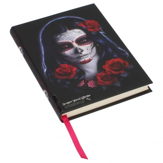 Embossed Journal Sugar Skull B2857H7