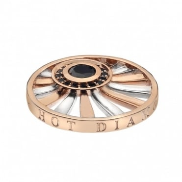 Emozioni 25mm Rose Gold Plate Art Deco Dawn EC121