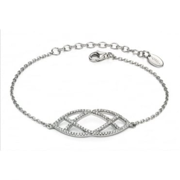 Fiorelli Silver Cubic Zirconia Set Bracelet B4656C