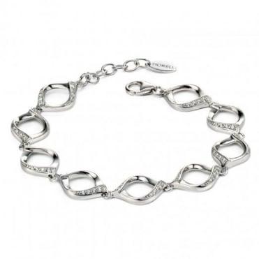 Fiorelli Silver & Pave Bracelet B4720C