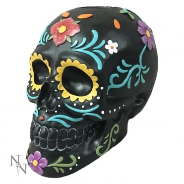 Flowers of The Dead Skull Tealight Holder D2216F6