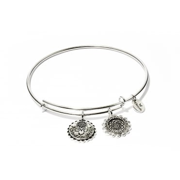 Friend & Family Grand Daughter Rhodium Plated Bangle CRBT0710SP