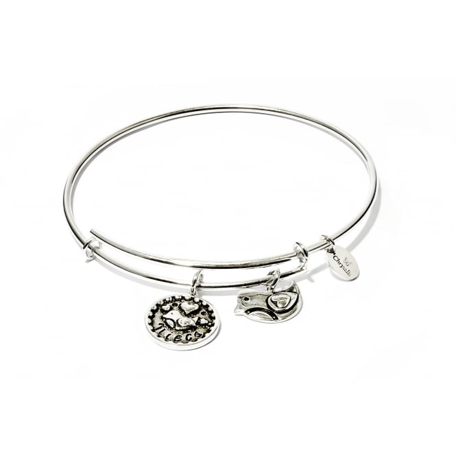 Friend & Family Niece Rhodium Plated Bangle CRBT0711SP