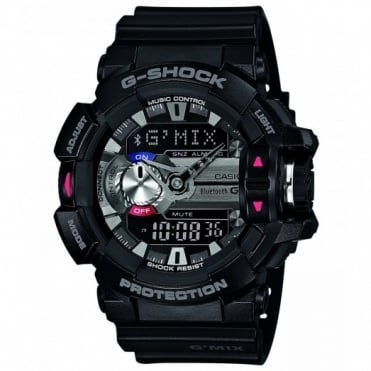 Men's Bluetooth Alarm Chronograph Watch GBA-400-1AER