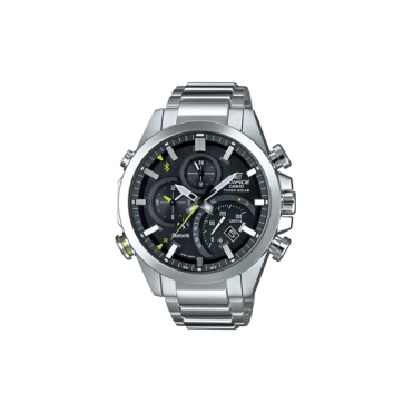 Gent's Alarm Chronograph Watch EQB-500D-1AER