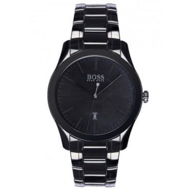 Gent's Black Ceramic Ambassador Watch 1513223