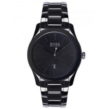 Hugo Boss Gent's Black Ceramic Ambassador Watch 1513223