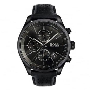Hugo Boss Gent's Black PVD Grand Prix Chrono Watch 1513474