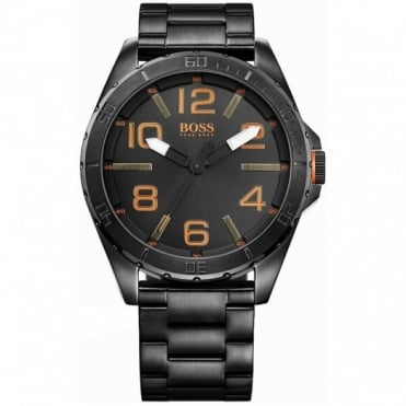 Gents' Black PVD Steel Watch 1513001