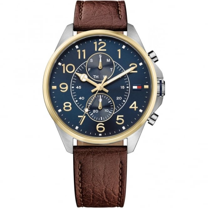 Gent's Brown Leather Dean Watch 1791275