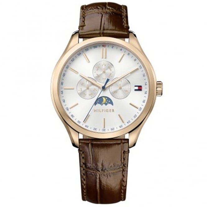 Gent's Brown Leather Oliver Watch 1791306