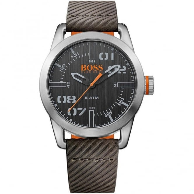 Gent's Brown Leather Oslo Watch 1513417