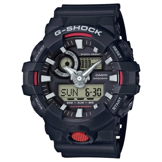 Gents G Shock Alarm Watch GA-700-1AER