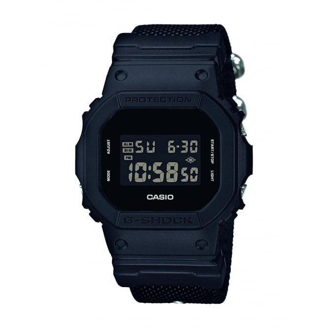 Gents G Shock Watch DW-5600BBN-1ER