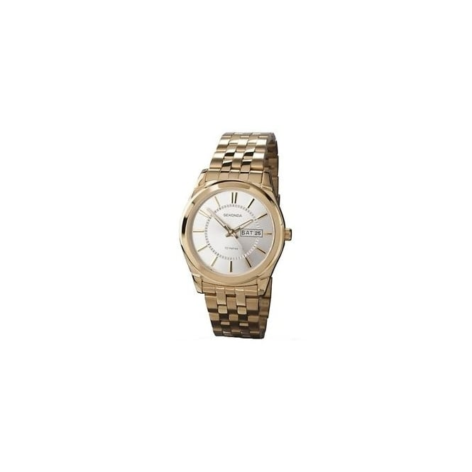 Gent's Gold Plated Stainless Steel Watch 3450