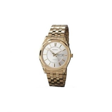 Men's Gold Plated Stainless Steel Watch 3450