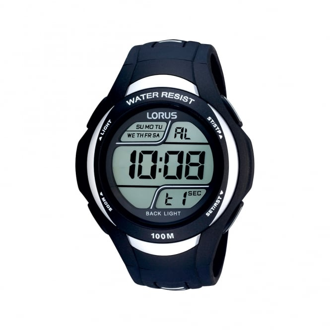 Gents' Navy Blue Digital Watch R2337EX9