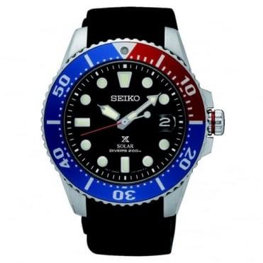 Seiko Gent's Prospex Solars Divers Watch SNE439P1