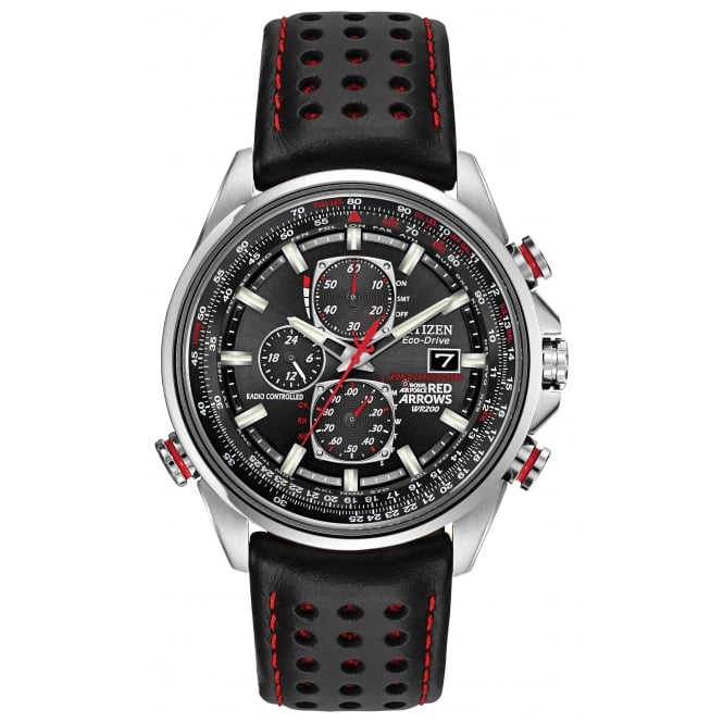 Gents Red Arrows World Chronograph Radio Controlled Watch AT8060-09E