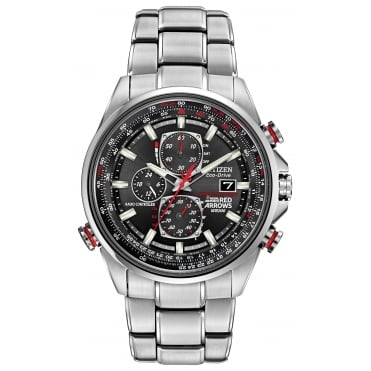 Gents Red Arrows World Chronograph Radio Controlled Watch AT8060-50E