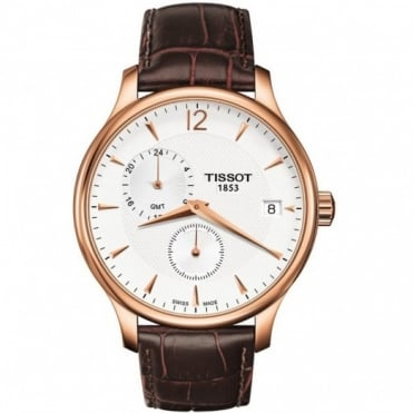 Tissot Gents Rose Gold Plate T-Classic Tradition Watch T063.639.36.037.00