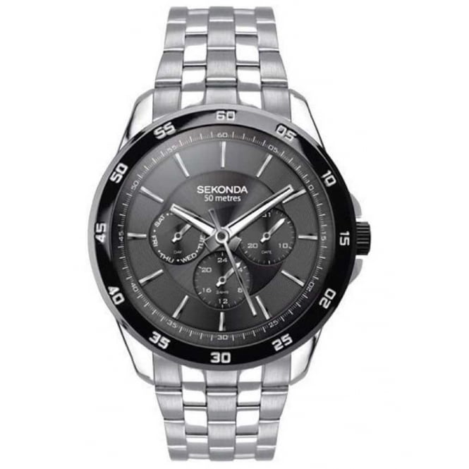 Gents' S/Steel Bracelet Watch 1392