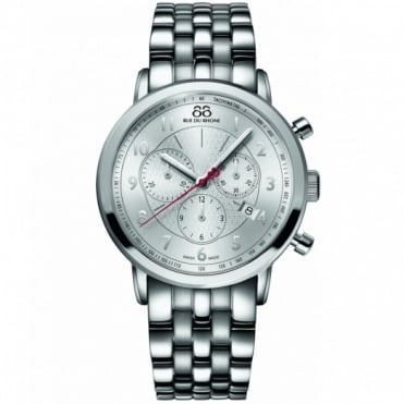 88 Rue Du Rhone Gents' S/Steel Chronograph Watch 87WA120044