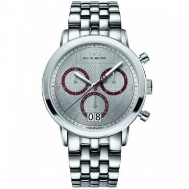 88 Rue Du Rhone Gents' S/Steel Chronograph Watch 87WA130036