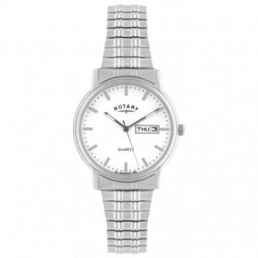 Rotary Gents S/Steel Expanding Watch GBI02762/02